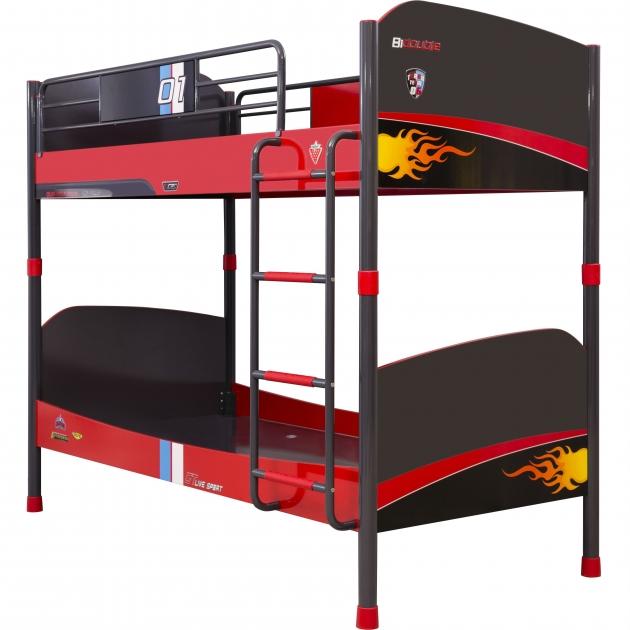 Двухъярусная кровать Cilek Champion Racer 200 на 90 см 20.35.1401.00