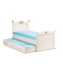 Подростковая кровать для девочки Cilek Flora Single 20.01.1301.01...