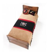 Комплект постельного белья Cilek Black Pirate Hook