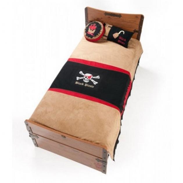 Комплект детского постельного белья Cilek Black Pirate Hook 21.04.4479.00