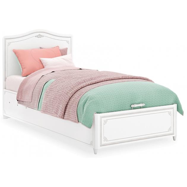 Кровать с подъемным механизмом Cilek Selena Grey 200 на 100 см