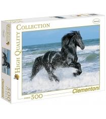 Пазл Clementoni Вороной конь в море 500 элементов 30175