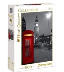 Пазл Clementoni HQ Лондон Красная телефонная будка 500 элементов 30263