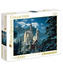 Пазл Clementoni Бавария зима 1000 элементов 31390