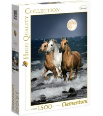 Пазл Clementoni HQ Дикие лошади 1500 элементов 31676