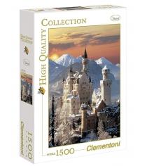 Пазл Clementoni HQ Бавария Замок Нойшванштайн 1500 элементов 31925