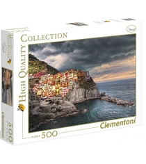 Пазл Clementoni HQ Манарола Италия Город на скале 500 элементов 35021