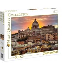 Пазл Clementoni HQ Вечерний Рим 1000 элементов 39341