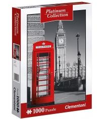 Пазл Clementoni Платиновая коллекция Лондон 1000 элементов 39397