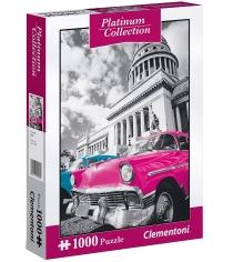 Пазл Clementoni Платиновая коллекция Куба 1000 элементов 39400