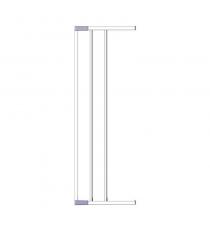 Дополнительная секция к воротам Clippasafe белый CL139/2W