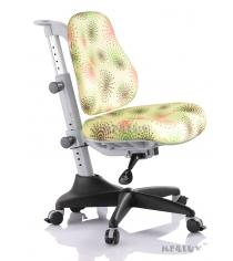 Детское кресло Comf-Pro Newton Y-818 салатовый с салютиками