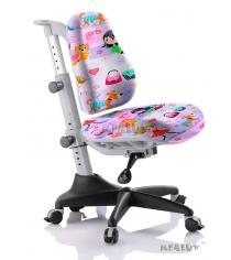 Кресло Comf Pro Match Y-518 фиолетовый с девочками