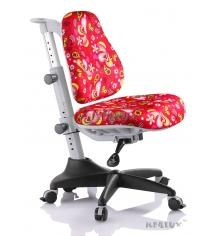 Кресло Comf Pro Match Y-518 красный с листочками
