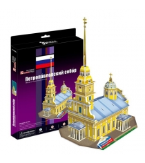 3D Пазл Cubic Fun Петропавловский собор (Россия) C140h