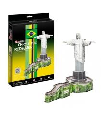3D Пазл Cubic Fun Статуя Христа-Искупителя (Бразилия) C187h