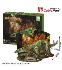 3D Пазл Cubic Fun Игрушка Эра Динозавров  Стегозавр P670h