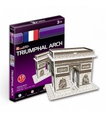 3D Пазл Cubic Fun Триумфальная арка (Франция) (мини серия) S3014