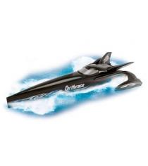 Игрушка гоночная лодка на батарейках Dickie 28 см черная 7266824