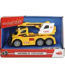 Машина Dickie с краном со светом и звуком 15см 3302006