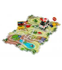 Скорая помощь заводная и трасса Dickie City Track Set 3315127...