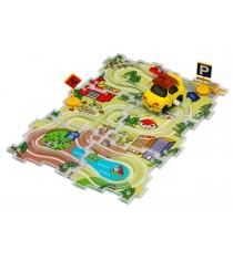 Машинка заводная Такси и трасса Dickie City Track Set 3315127...