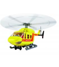 Игрушка вертолет Dickie Air Rescue 26 см инерционный желтый 3564966...