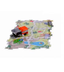 Машинка+трасса-паззл Dickie Уборочная машинка 3315156...