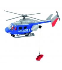 Вертолет полицейский Dickie Air Rescue 26 см инерционный синий 3564966...
