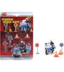Dickie Toys Полицейский на мотоцикле 3315391