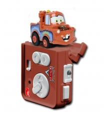 Машинка из мультфильма Тачки Dickie Мэтр 6 см на инфракрасном управлении 3089513