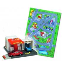 Игровой набор Коврик и спасательная станция Dickie Petrol Station 3608104...