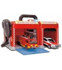 Игровой набор Dickie Пожарная станция 3716004
