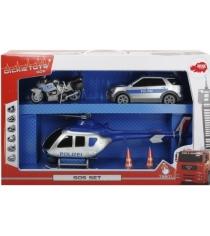 Спасательный набор Dickie Полиция 3719002