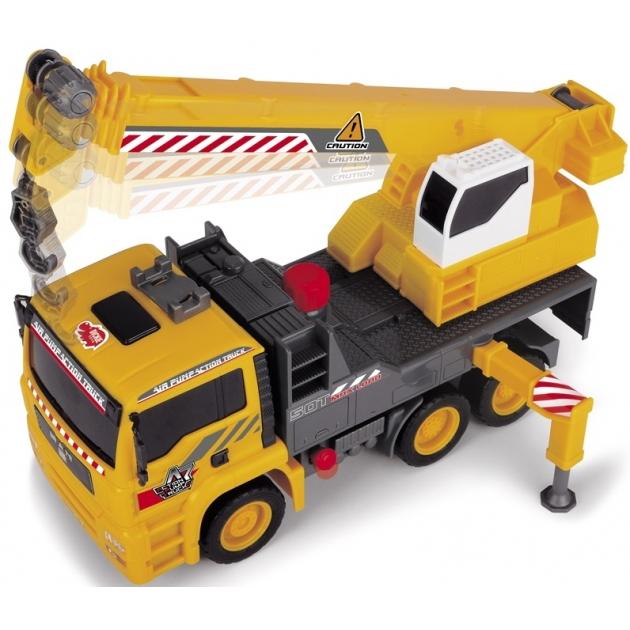 Игрушка Dickie Машина с краном AirPump 3806003