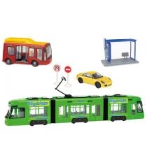 Игровой набор Dickie Городской транспорт 3829001