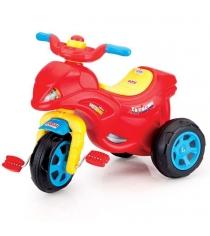 Детский трехколесный велосипед Dolu в виде мотоцикла DL_7149