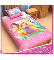 Детское одеяло панно Disney Принцессы 1153105