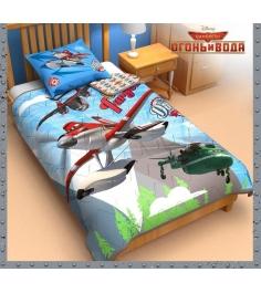 Детское одеяло панно Disney Самолеты 1153107...