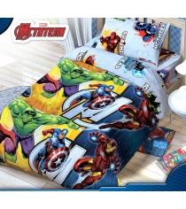 Детское постельное белье Disney Команда Мстители 1317322
