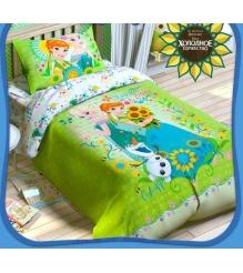 Детское постельное белье Disney Холодное сердце Анна и Эльза 1343331