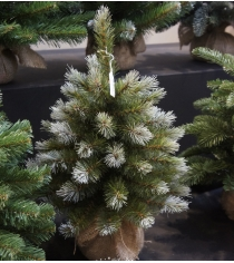 Искусственная елка Triumph Tree Женева 60 см в мешочке заснеженная