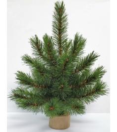 Искусственная елка Triumph Tree Лесная Красавица 30 см на деревянной подставке...