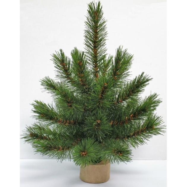 Искусственная елка Triumph Tree Лесная Красавица 30 см на деревянной подставке