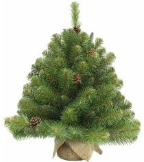 Искусственная елка Triumph Tree Императрица с шишками 60 см в мешочке