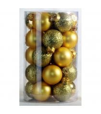 Набор украшений Peneri 25 шаров 3 см