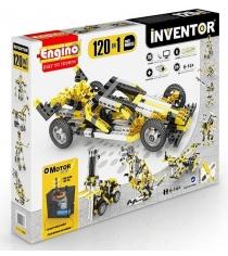 Конструктор Engino Inventor Набор из 120 моделей с мотором 12030