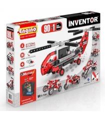 Конструктор Engino Inventor Набор из 90 моделей с мотором 9030