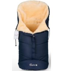 Меховой конверт в коляску Esspero Sleeping Bag натуральная шерсть...