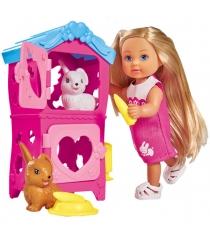 Кукла Еви с кроликами, 12 см 5733065